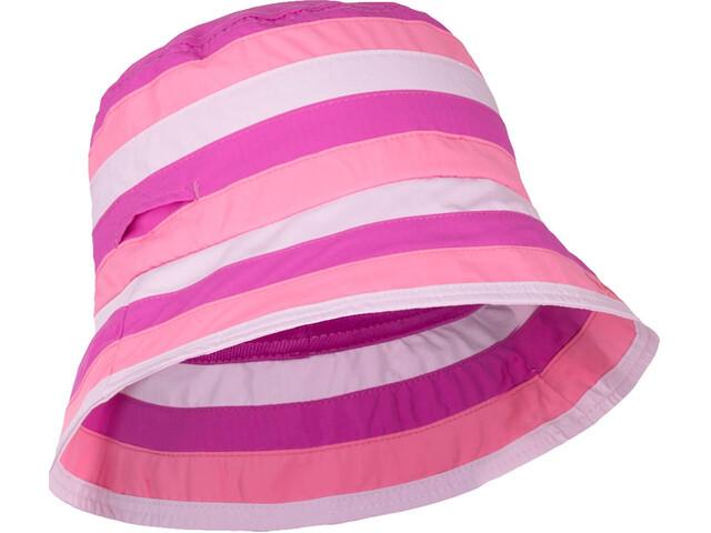hyphen Birdy Casquette Fille, pink stripes